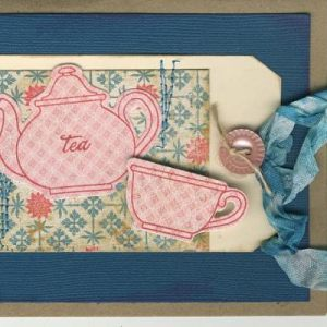 Cards/Projects - Tea Theme