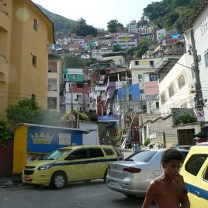 Favela Santa Marta Slum ~ Rio ~ March 2107