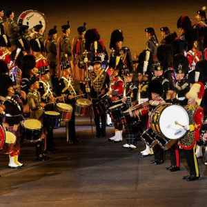 MILITARY TATTOO  Edinburgh, Schottland