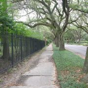 North Blvd and Broadacres Park