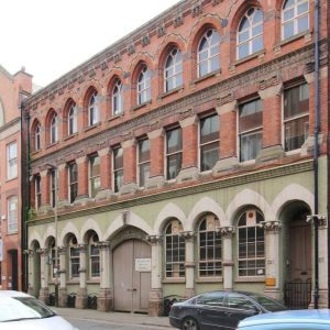 Buildings in Leicester listed by the Victorian Society