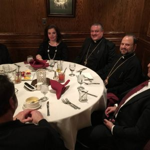 P.C Dinner with Bishop Nicholas Ozone