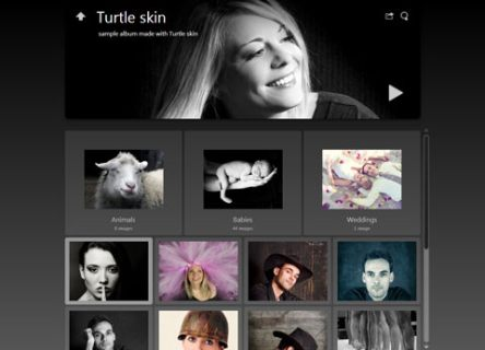 Photo Album Skin Turtle Jalbum